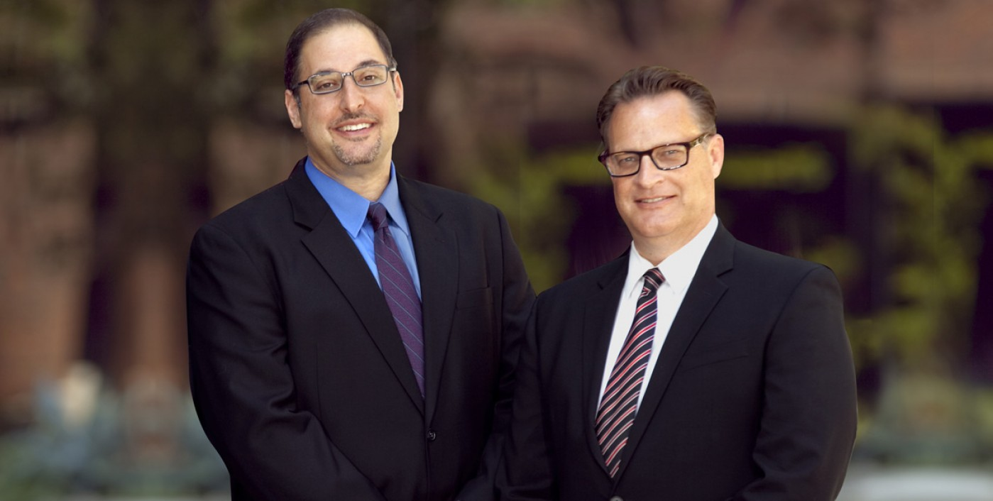 Schiffer & Buus principals, William Buus and Eric Schiffer in Costa Mesa, California